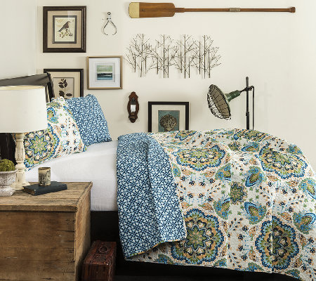 Addington 3-Piece Full/Queen Quilt by LushDecor