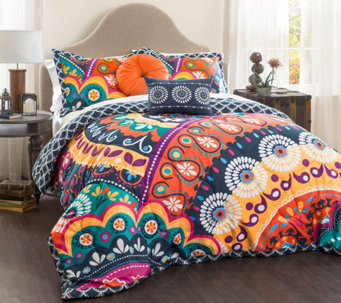 Maya 5-Piece Full/Queen Comforter Set by Lush Decor - H288557