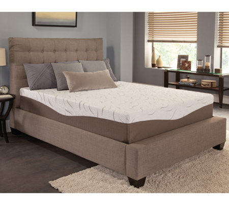 "Energize! 12"" Firm Gel Memory Foam QueenMattress"