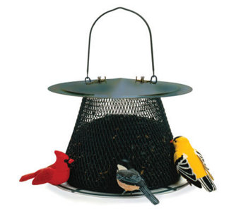 No/No Original 2.5 lb Bird Feeder in Forest Green - H349757