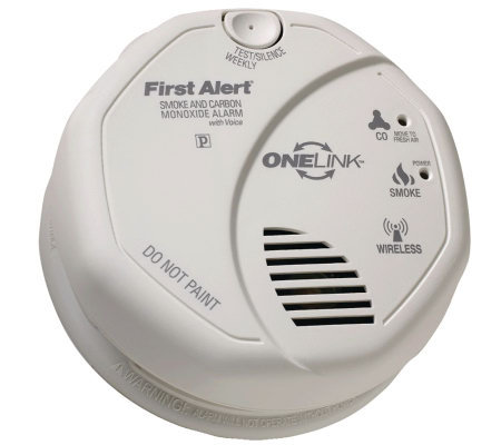 First Alert Onelink Combination Smoke & CarbonMonoxide Alarm