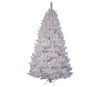 5.5' White Sparkle Spruce Tree with LED - H364657