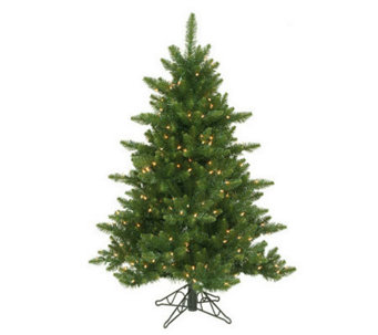 4-1/2' Camdon Fir Tree by Vickerman - H155158