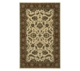 "Momeni Persian Floral 9'6"" x 13' Power-Loomed Wool Rug - H162858"