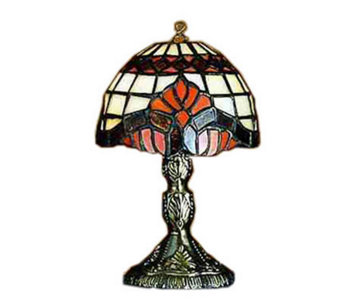 "Tiffany Style 5""H Baroque Micro Mini Lamp - H181358"