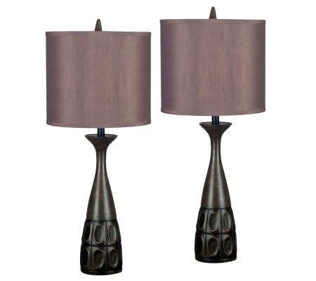 Kenroy Home Jules 2-Pack Table Lamps
