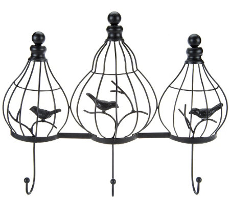 Home Reflections Bird Cage Wall Hooks