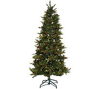 Bethlehem Lights 6.5' Heritage Spruce Christmas Tree w/Instant Power - H208558