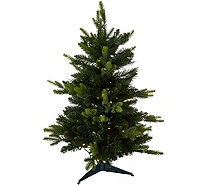 "Bethlehem Lights Prelit 34"" Green Stake Tree - H212558"