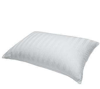 Blue Ridge 500TC Damask Siberian White Down King Pillow - H290058