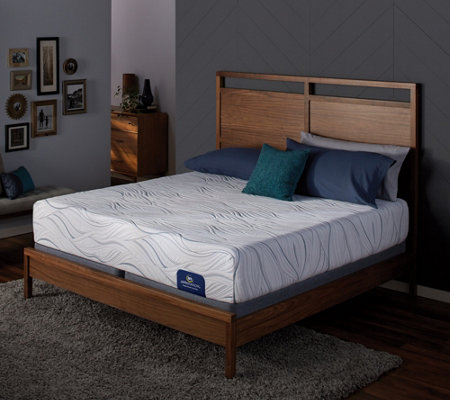 "Serta Perfect Sleeper 12"" Gel Memory Foam SplitQN Mattress Se"