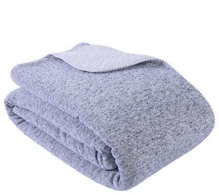 Berkshire Blanket Cozy Sweater Knit ReversibleKing Blanket
