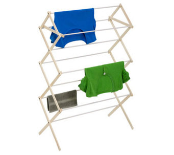 Honey-Can-Do Wood Folding Drying Rack - H356558