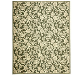 "Treasures Allover Floral Power-Loomed Rug - 8'9"" x 12' - H361858"