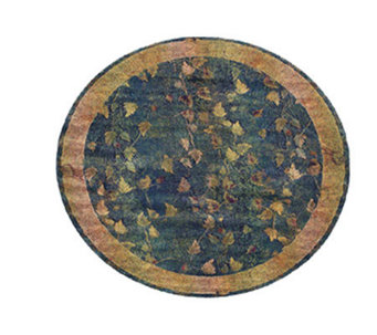 Sphinx Fall Border 8' Round Rug by Oriental Weavers - H139059
