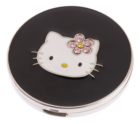 Hello Kitty Diamonique Fashionista Kitty Mirror Compact