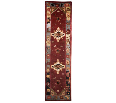 "Royal Palace 2'6""X10' Southwestern Medallion"