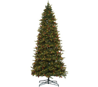 Bethlehem Lights 9' Heritage Spruce Christmas Tree w/Instant Power - H208559