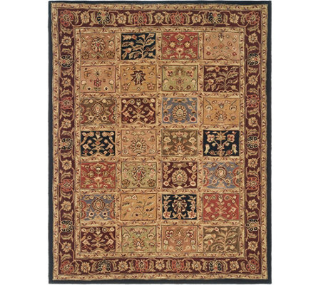 Royal Palace Special Edition 7'x9' Tabriz Panel Wool Rug