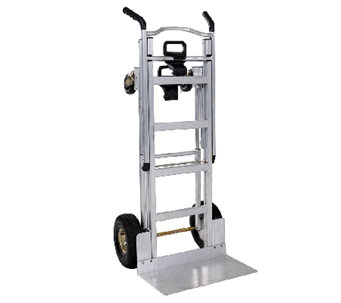 Cosco 3-in-1 Aluminum Hand Truck/Cart w/ Flat Free Wheels - H282659