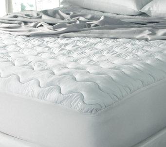 sealy microfiber waterproof queen mattress pad h287661