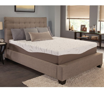 "Energize! 12"" Firm Gel Memory Foam King Mattress - H289059"