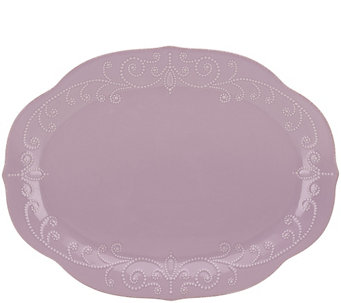 Lenox French Perle Oval Platter - H365659