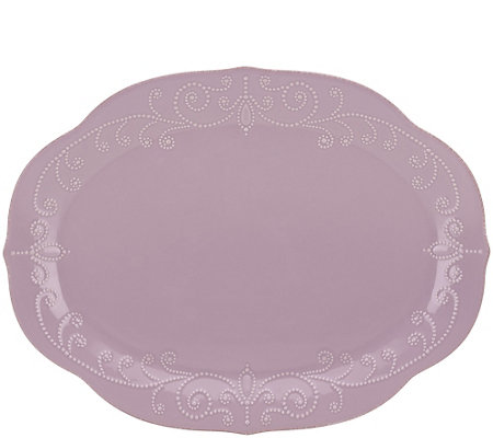 Lenox French Perle Oval Platter