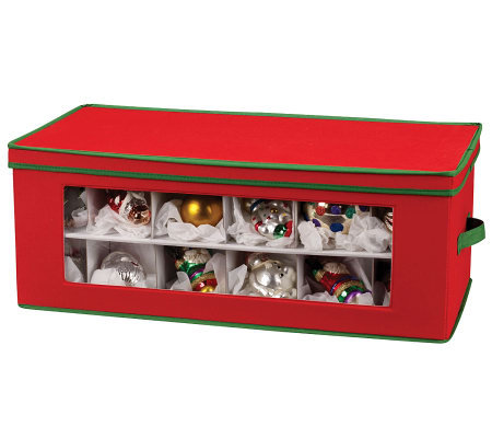 Household Essentials 36-Pc Holiday Ornament Chest
