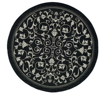 "Safavieh Courtyard Heirloom Gate 6'7"" Round Rug - H178960"