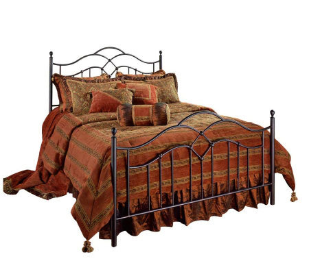 Hillsdale Furniture Oklahoma Queen Bed - BronzeFinish