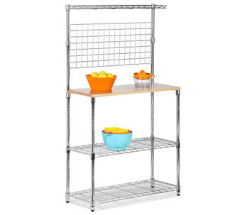 Honey-Can-Do Chrome 2-Shelf Urban Baker's Rack - H184060