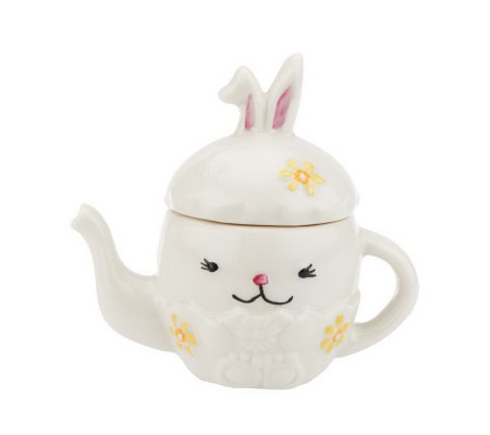 Belleek Choice of Easter Egg Mini Teapots