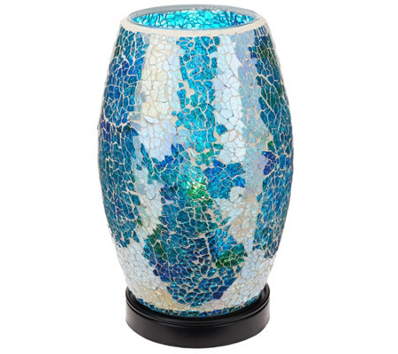 Illuminated Mosaic Plug-in Lamp by Valerie