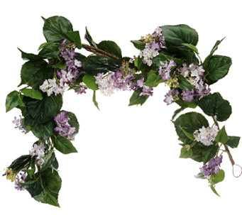 Lilac 4-foot Garland by Valerie - H204860