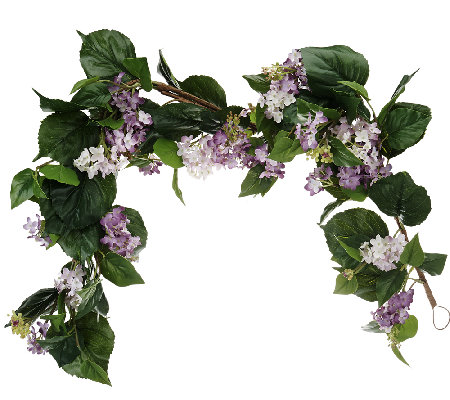 Lilac 4-foot Garland by Valerie