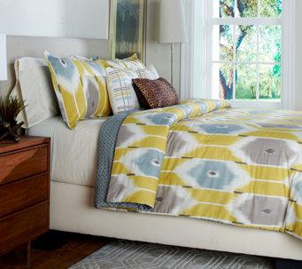 Scott Living Sumatra 5 Piece Twin Reversible Comforter Set   H208660