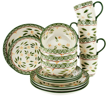 Temp-tations Old World 16-pc Dinnerware Set