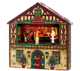 Mr. Christmas Animated Advent House - H284560