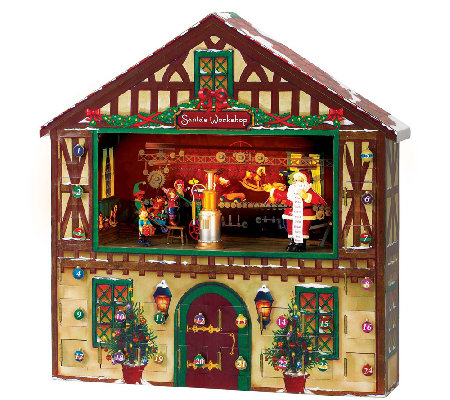 Mr. Christmas Animated Advent House