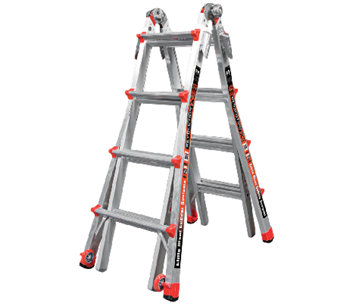 Little Giant Revolution 24-in-1 Heavy Duty 17'Ladder - H285160