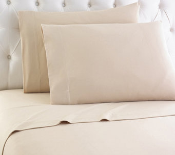 Shavel Micro Flannel(R) Solid Color King Sheet Set - H290460