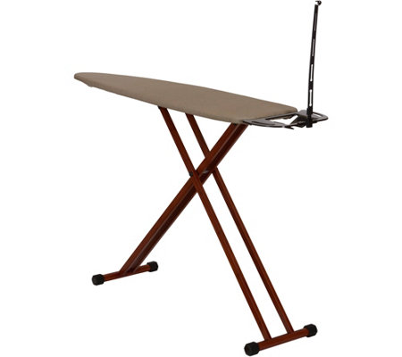 Household Essentials 4-Leg Bamboo Ironing Board