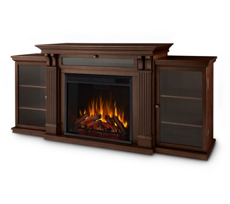 Real Flame Calie Electric Fireplace Entertainment Center