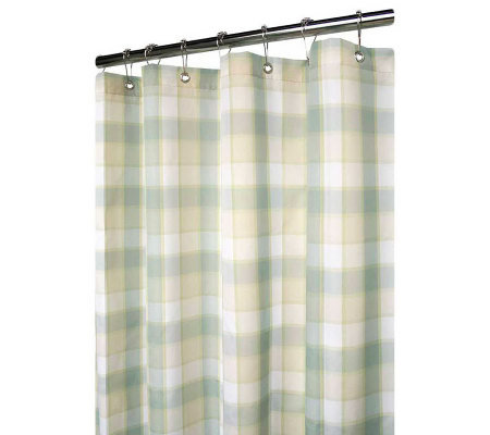 Watershed 2-in-1 Dorset 72&quot x 72&quot Shower Curtain