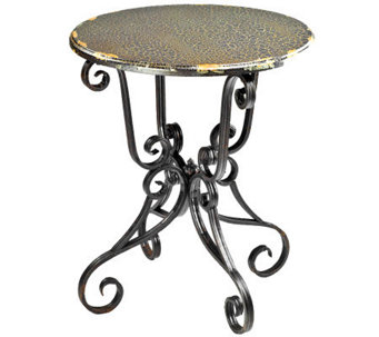 Taylor Side Table with Scroll Base - H361160