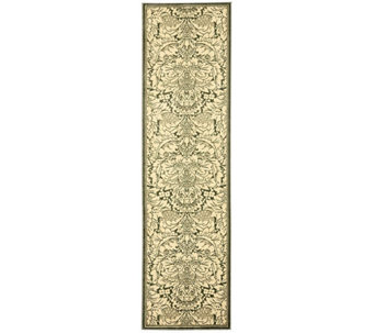 "Treasures Damask Power-Loomed Rug - 2'2"" x 8' - H361860"
