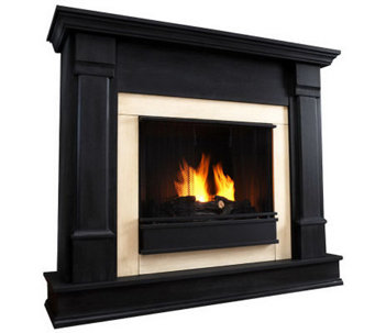 Real Flame Silverton Gel Fuel Fireplace - H363060
