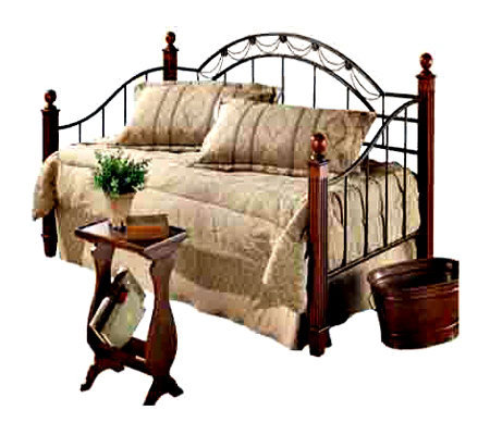 Hillsdale Furniture Camelot Wood Post Daybed with Support Deck