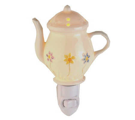 Belleek Reversible Teapot Nightlight